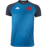 Camisa De Treino Do Vasco Da Gama 2020 Kappa - Masculina - Azul/Cinza