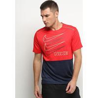 Camiseta Nike Miler Short Sleeve Hb Masculina - Masculino