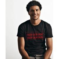 Camiseta Zé Carretilha Leão Da Ilha Cazá Masculino - Masculino