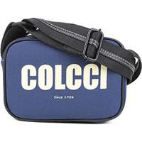Bolsa Colcci Mini Bag Transversal Feminina - Feminino-Azul