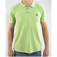 Camisa Polo Manga Curta Gam Gam Verde