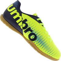 Chuteira Futsal Umbro Innverse In - Adulto - Verde Cla Azul Esc 1f269863569e9