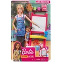 Boneca Barbie Quero Ser Professora De Artes Da Mattel Dhb63