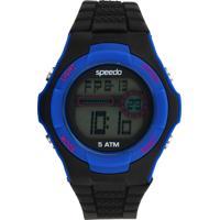 Relógio Speedo 81121G0Evnp2 Preto/Azul