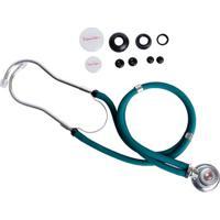 Estetoscópio Rappaport Verde Premium