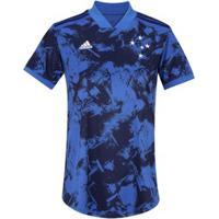 Camisa Do Cruzeiro Iii 2020 Adidas - Feminina - Azul