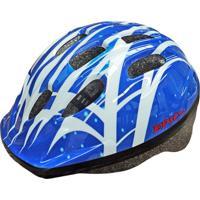 Capacete Para Ciclismo Infantil Mv12 White/Blue 2396 - Epic Line