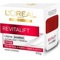 Creme Antirrugas Revitalift Diurno Fps18 49G L'Oréal