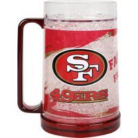 Caneca De Chopp Nfl Freezer Mug San Francisco 49 Ers 490 Ml - Unissex