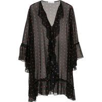 Nk Kimono De Seda - Preto