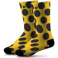 Meia Infantil Comfy Balls - Unissex-Amarelo