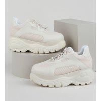 Tênis Feminino Zatz Sneaker Chunky Com Recortes Rosê