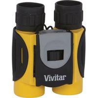 Binóculo Vivitar Com Zoom De 8X E Lentes De 25Mm Amarelo/Preto - Tricae