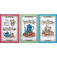 Pano De Copa Felpudo 0.45 X 0.65 M Prata Tea Sweets Dohler