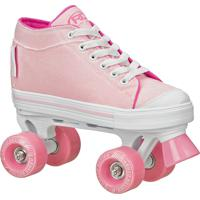 Patins Roller Derby Infantil Zinger Girls Para Meninas 32