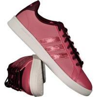 Tênis Adidas Cf Advantage W Feminino - Feminino-Bordô