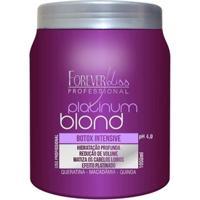 Forever Liss Platinum Blond Botox Intensive Matizador - 1Kg - Unissex