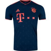 Camisa Bayern De Munique Iii 19/20 Adidas - Masculina - Azul Escuro