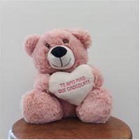 Urso Fofuxo Coração Frase Rosê M W.U
