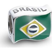 Pingente Life Bandeira Do Brasil