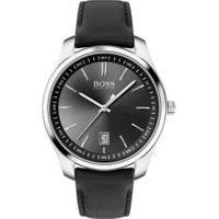 Relógio Hugo Boss Masculino Couro Preto - 1513729