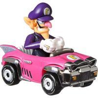 Carrinho Hot Wheels Mario Kart Waluigi - Mattel