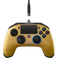 Controle Sony Revolution Pro Nacon Para Playstation 4 Dourado