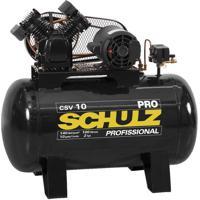 Compressor De Ar Schulz, 2 Hp, 100 Litros, Monofásico - Csv10/100