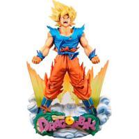 Figura Colecionável - 18 Cm - Dragon Ball Z - Goku - Bandai - Unissex-Incolor