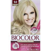 Tintura Biocolor Kit Creme 9.0 Super Louro Abusado