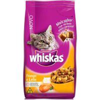 Ração Para Gatos Whiskas Sabor Frango E Leite Com 1Kg
