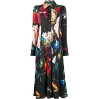 Paul Smith Chemise Com Estampa Floral - Preto