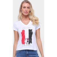 Camiseta São Paulo Bi Mundial Retrô Mania Feminina - Feminino