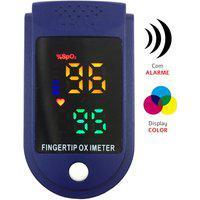 Oxímetro De Pulso Com Alarme Visor Led Color Winner Yk009