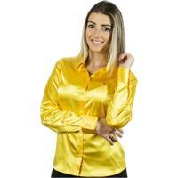 Camisa Pimenta Rosada Nanette - Feminino-Amarelo