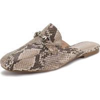 Sapato Feminino Mule Via Marte - 198407 Taupe 35