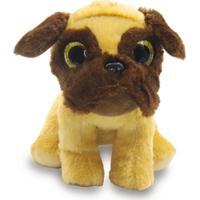 Cachorro De Pelúcia 22Cm - Pug - Unik Toys