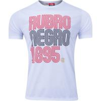Camiseta Do Flamengo New Rubro 20 - Masculina - Branco