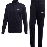Agasalho Adidas Mts Lin Tric Azul