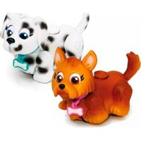 Mini Figuras - Pet Parade - Cachorrinhos Pintado E - Masculino-Incolor