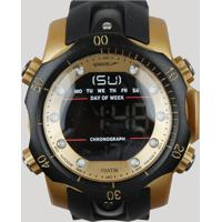 Relógio Digital Speedo Masculino - 11005G0Evnp3 Preto - Único