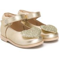 Florens Classic Formal Ballerinas - Dourado