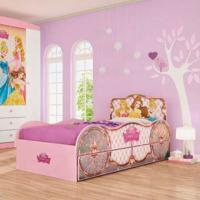 Bicama Princesa Pura Magia Disney Fun Rosa