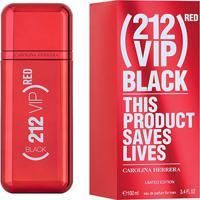 Perfume Carolina Herrera 212 Vip Men Black (Red) Eau De Parfum Masculino 100Ml - Masculino-Incolor