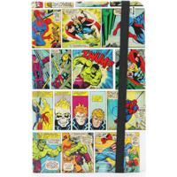Caderno De Anotação História Em Quadrinhos Coloridos - Zona Criativa