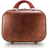 Frasqueira Jacki Design Vintage - Unissex-Marrom