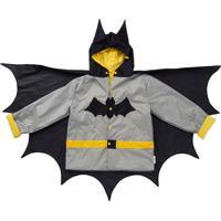 Capa De Chuva Dani Lessa Morcego Preto - Kanui