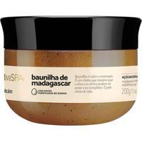 Nativa Spa Baunilha De Madagascar Açúcar Esfoliante Óleo Desodorante, 200G