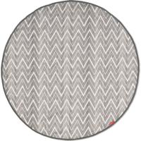 Trocador/Protetor De Superficie (Mat) - Zig Zag Zebra - Unissex-Cinza