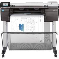Multifuncional Hp Designjet T830 Wireless 24 Polegadas Com Impressora, Copiadora, Scanner